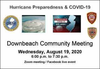 Downbeach Community Meeting - August, 19, 2020