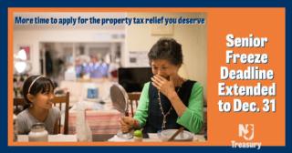 Senior Freeze Property Tax Reimbursement Program